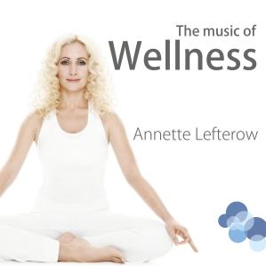 Wellnessmusiken till storstädningen hittar du på Spotify - sök artistnamn Annette Lefterow